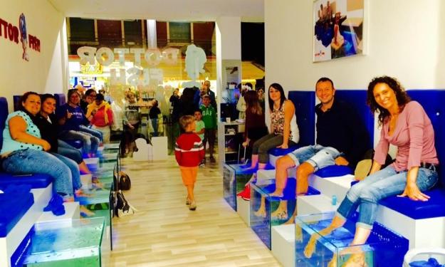 Aprire centro fish therapy in comodato d 39 uso dottor fish for Garra rufa fish pedicure locations
