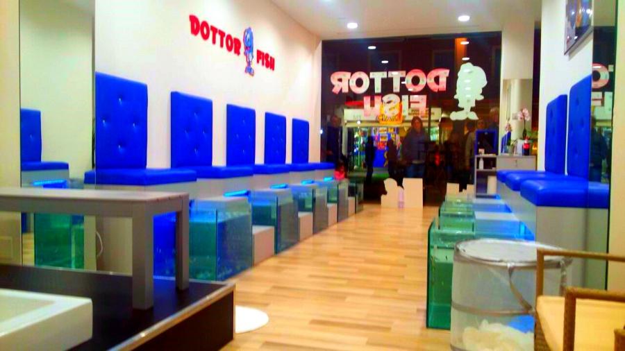 Centro dottor fish riccione dottor fish for Garra rufa fish pedicure locations