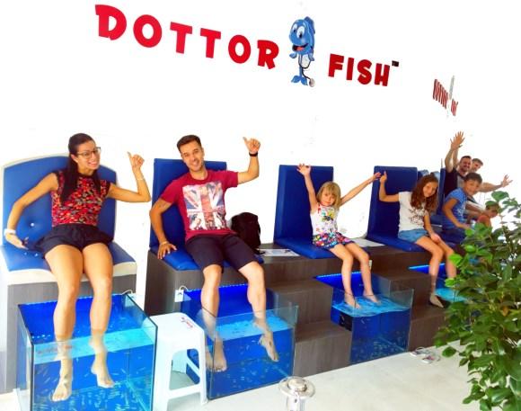 Franchising dottor fish un business di vero successo for Garra rufa fish pedicure locations
